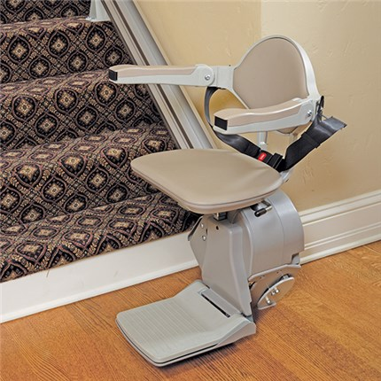 Santa Rosa CA Elan Indoor Straight Rail StairLifts home residential indoor stairchairs