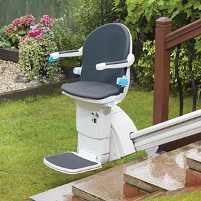 exterior stairlift outside stairchair outdoor mountain view stairlifts