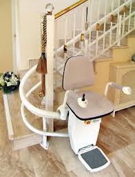 hawle precision StairLift Los Angeles CA Santa Ana Costa Mesa Long Beach  custom curved stairway outdoors indoors home chairlift